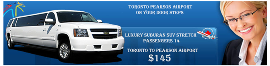Limousine services in Toronto