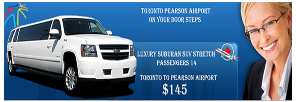 luxury airport limo services in toronto